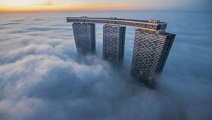 عکس روز: مه صبحگاهی