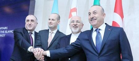 بیانیه باکو  | توافقات وزیران امورخارجه ایران، ترکیه، آذربایحان و گرجستان
