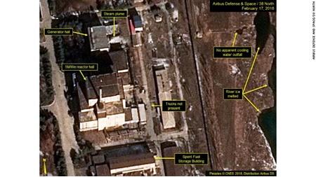 کره شمالی آزمایش راکتور هسته ای جدید خود را تایید کرد
