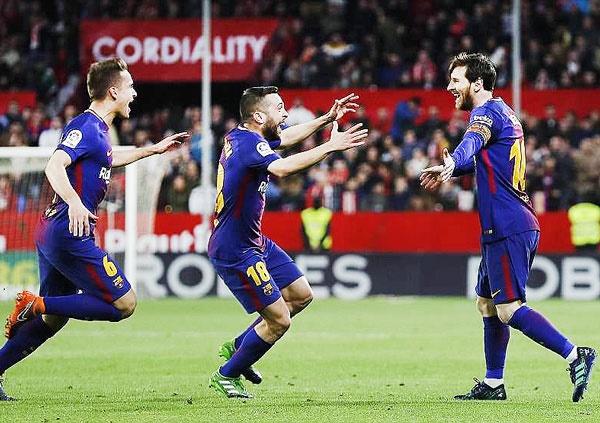 بارسلونا در آستانه ثبت یک رکورد تاریخی دیگر
