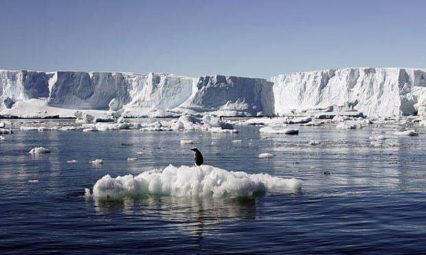 حجم یخهای ذوبشده در قطب جنوب بیش از حد انتظار است