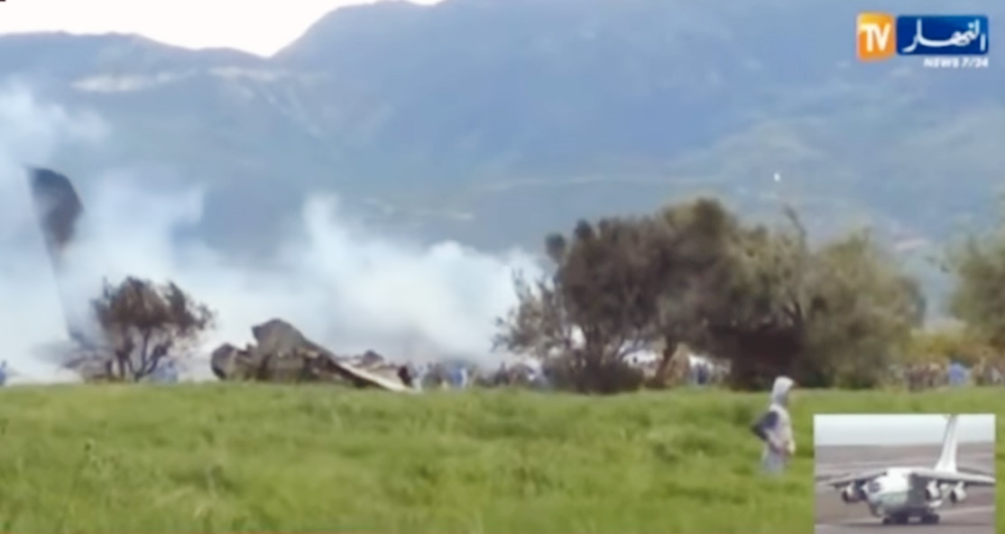 ۲۰۰ کشته در سقوط هواپیمای نظامی در الجزایر