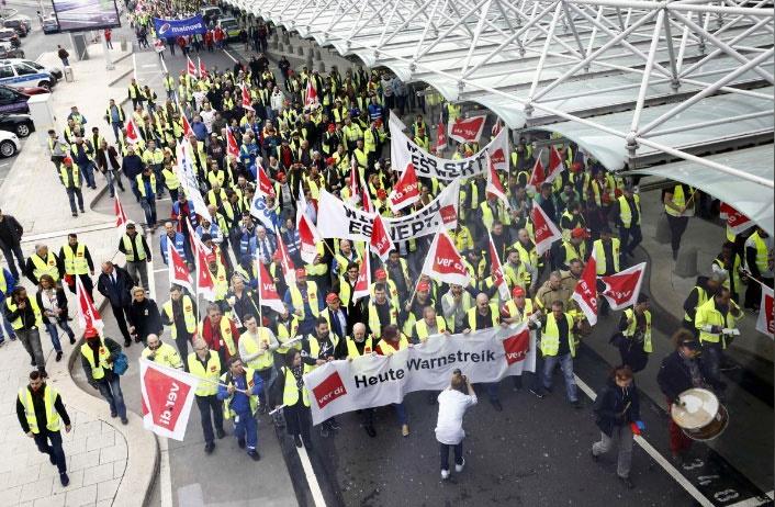 دومین روز اعتصابهای سراسری در آلمان