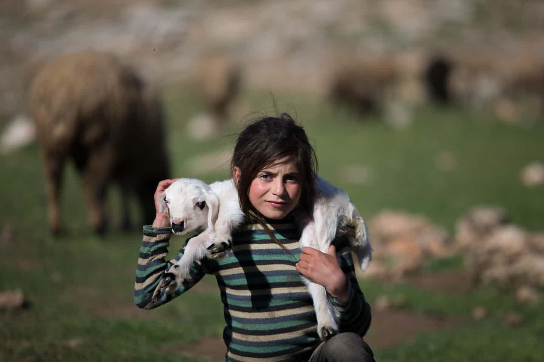 nomadic child