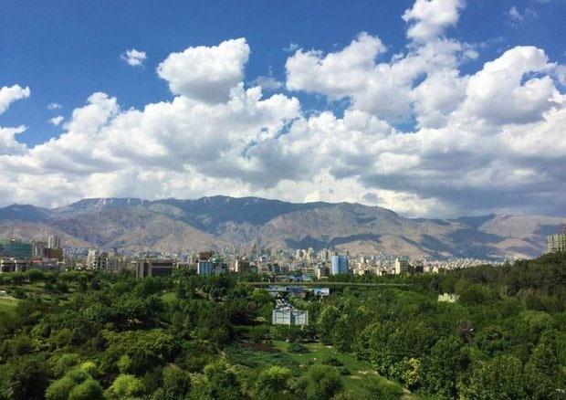 هوای تهران در مرز شرایط پاک قرار گرفت
