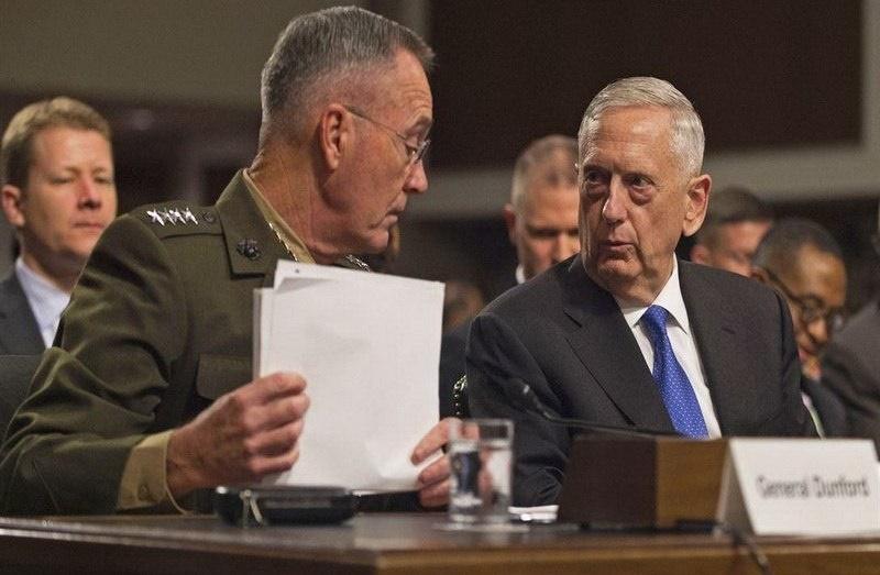 حمله علیه سوریه فرماندهان نظامی آمریکا را به کنگره کشاند