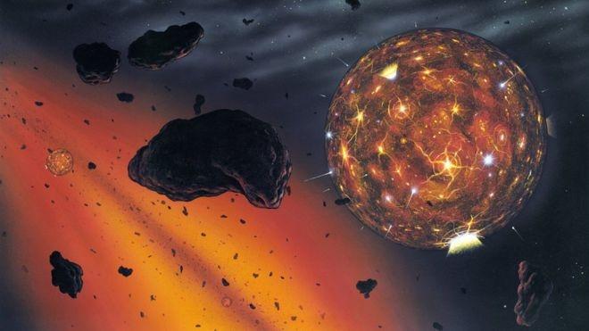 کشف منشا الماسهای کیهانی در دل سیارهای گمشده