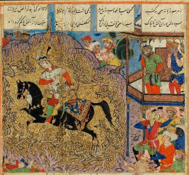 شاهنامه فردوسی و جهانبینی ایرانیان