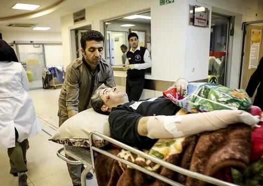 ۵۴ مصدوم در زلزله ۱۲ فروردین کرمانشاه