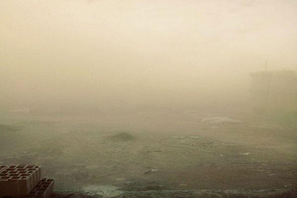 گرد و غبار در شهرستان ایوان به ۸ برابر حد مجاز رسید