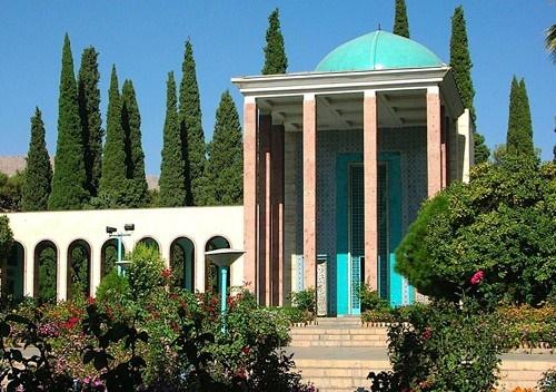 گزارش بزرگداشت سعدی در آرامگاهش
