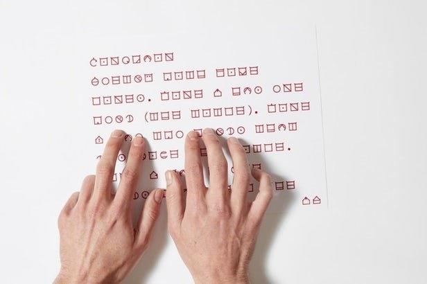 ابداع رسمالخط جدید برای نابینایان | مزایای الیا نسبت به بریل