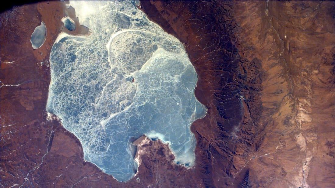 سفری زمینی در میان عکسهای ماهوارههای ناسا