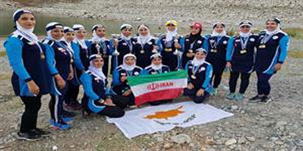 بانوان باشگاه آوش نیلگون قهرمان مسابقات دراگون بوت قبرس شدند