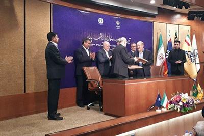 وزراتخانههای دفاع و نفت قرارداد ساخت خط لوله انتقال گاز امضا کردند