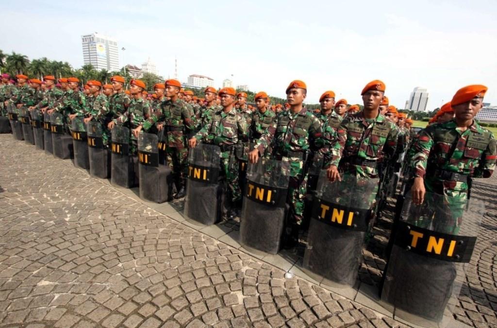 اندونزی دارای بزرگترین ارتش جنوب شرق آسیاست