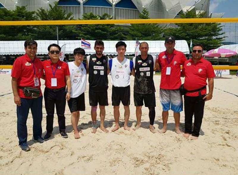 Footvolley Teams