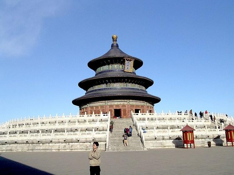 معبد بهشت یک نمونهی عالی از پاگودای  چینی