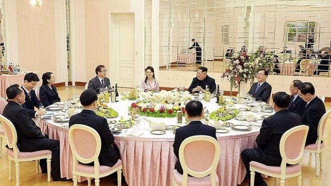 شام رهبران دو کره در نشست ۷ اردیبهشت | غذای سوئیسی برای رهبر کره شمالی