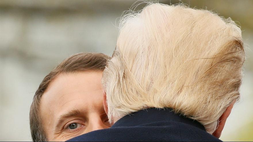 ارزیابی مکرون از تصمیم ترامپ درباره برجام