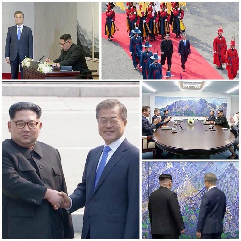 عکس روز | دیدار سران دو کره