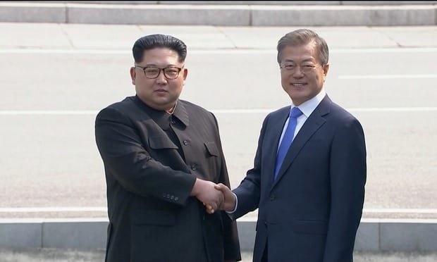 آنچه در دیدار تاریخی رهبران دو کره در منطقه غیرنظامی اتفاق افتاد
