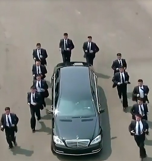 ببینید: حفاظت از خودرو کیم جونگ اون