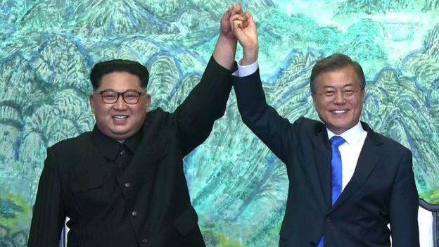 بیانیه مشترک رهبران دو کره | توافق برای تحقق صلح دائمی و پایدار