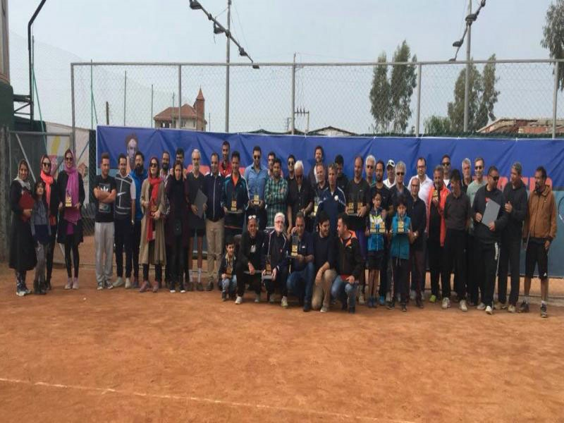 چهرههای برتر مسابقات بینالمللی تنیس پیشکسوتان معرفی شدند