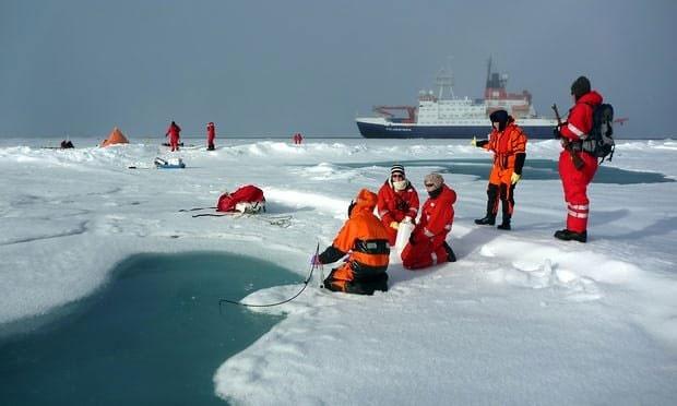 رکورد جدید آلودگیهای پلاستیکی در دریای شمالگان