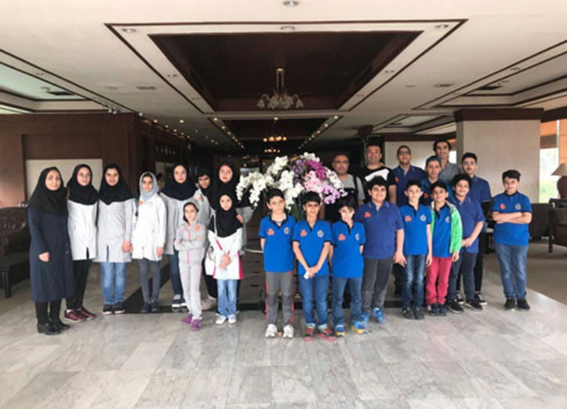 کسب ۵ مدال در بخش سریع مسابقات شطرنج نوجوانان آسیا