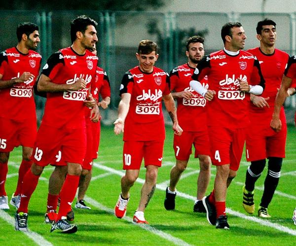 لیگ قهرمانان آسیا؛ ۵ بازیکن پرسپولیس در آستانه محرومیت