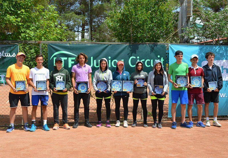 تنیس بینالمللی جوانان/ اصفهان؛ جامهای قهرمانی به نمایندگان ترک رسید