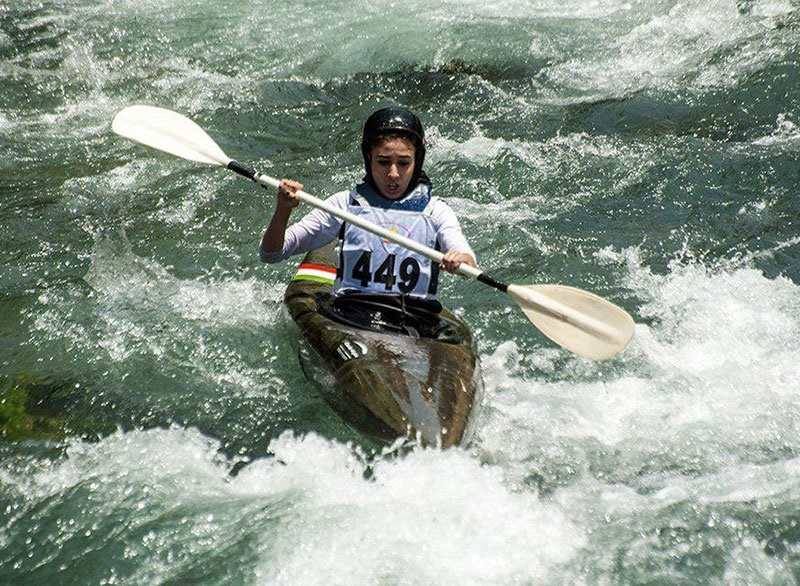 مسابقات قایقرانی اسلالوم زیر ۲۳ سال و جوانان آسیا در رودخانه کرج برگزار میشود