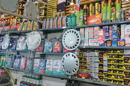 Spare parts for automobiles