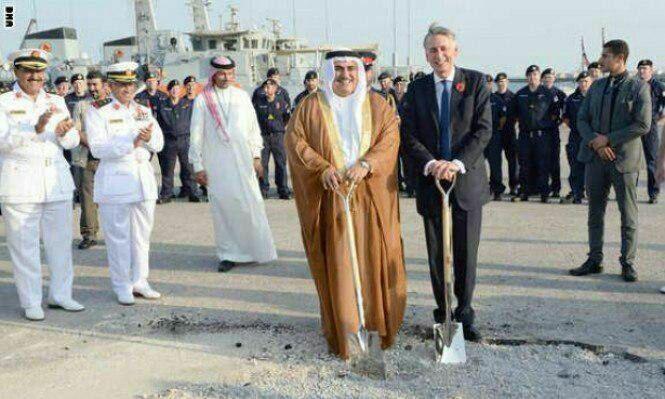 افتتاح اولین پایگاه نظامی دائم انگلیس در بحرین و خلیج فارس