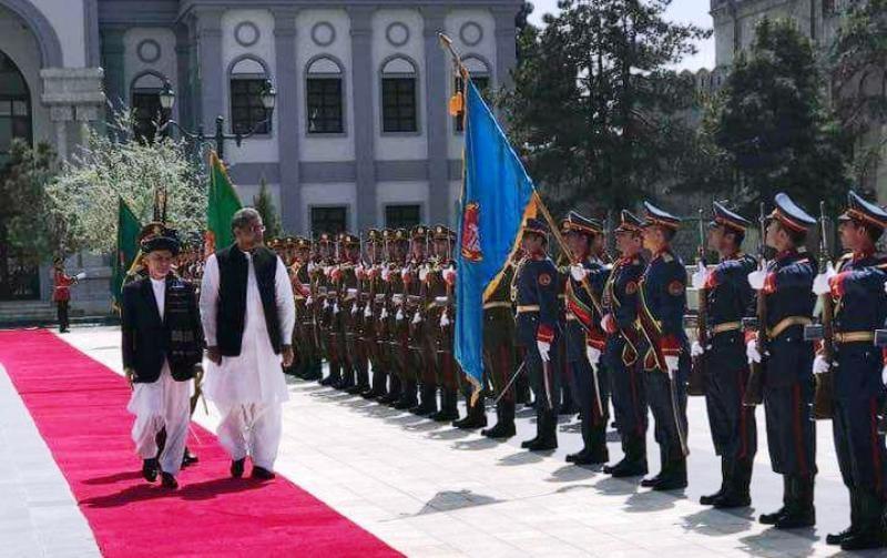 نخست وزیر پاکستان برای گفت و گوهای صلح به کابل رفت