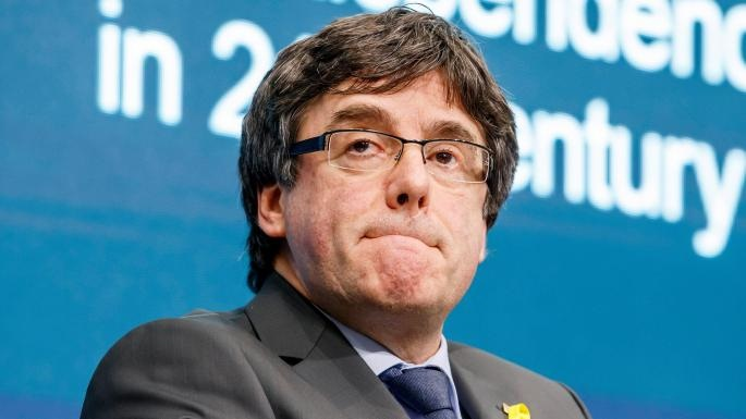 پوجدمون رئیس سابق منطقه کاتالونیا به قید وثیقه آزاد شد