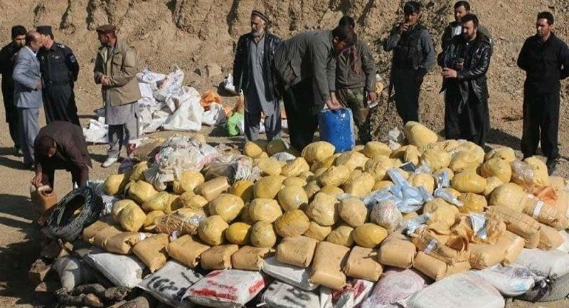 افغانستان مجوز فروش مواد مخدر کشف شده را صادر کرد