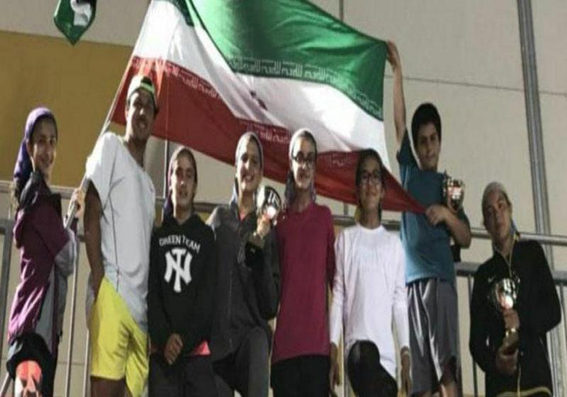 تنیس زیر ۱۴ سال آسیا/ قطر؛ کسب عنوان قهرمانی مشکاتالزهراء صفی و تیم دختران