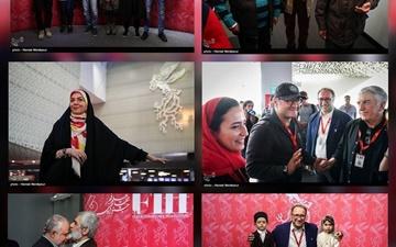 عکس   اولین روز سیوششمین جشنواره جهانی فیلم فجر
