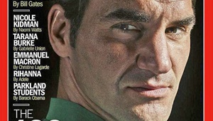 ۱۰۰ چهره پرنفوذ دنیای امروز به انتخاب تایم   درخشش فدرر، جیلو، کیدمن و دیگران