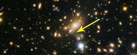 هابل دورافتاده ترین تک ستاره جهان را رصد کرد