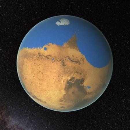 تعیین مکان های مناسب برای زندگی در مریخ توسط محققان هلندی