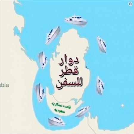 عربستان می خواهد قطر را جزیره کند | واکنش طنز کاربران توییتر