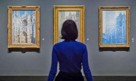 بلیت ۲۲ پوندی برای دیدن کلود مونه در نشنال گالری لندن
