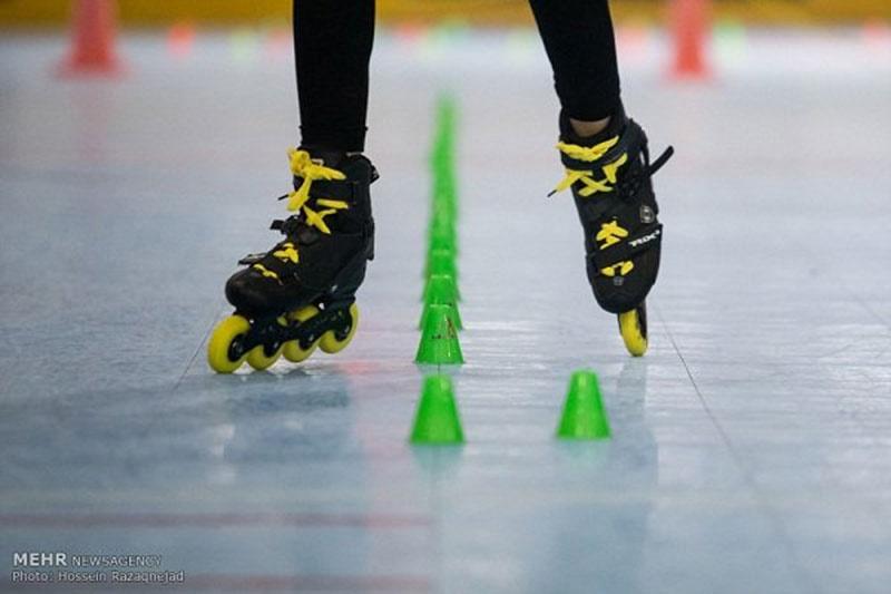 مسابقات اسکیت دستجات آزاد، انتخابی تیم ملی فری استایل (اسپید اسلالوم) برگزار شد