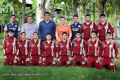 تیم ملی کشتی فرنگی نوجوانان ایران قهرمان آسیا شد