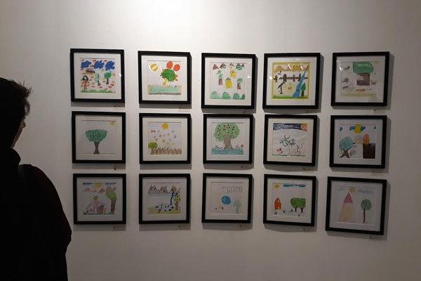 نقاشی کودکان کورههای آجرپزخانه | این تابلوها را بخرید