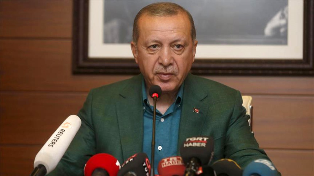 اردوغان: اسرائیل در خاورمیانه جنگ افروزی می کند
